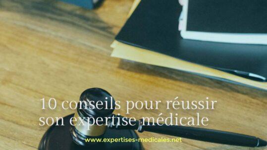 réussir son expertise médicale